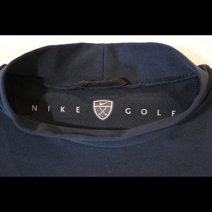 Nike Dri-Fit Mock Turtleneck Golf Tee